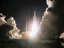 Европейская ракета вывела на орбиту два спутника