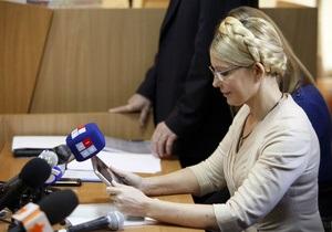Дело ЕЭСУ: Тимошенко была допрошена в качестве обвиняемой