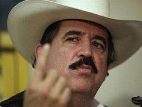 Суд Гондураса отказал Селайе в праве вернуться к власти
