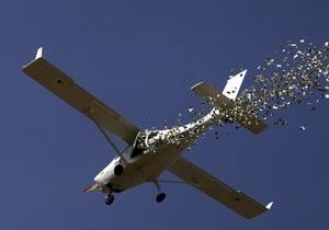 В Грузии разбился учебный самолет: два человека погибли