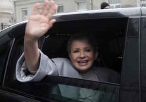 Тимошенко вернулась в Украину