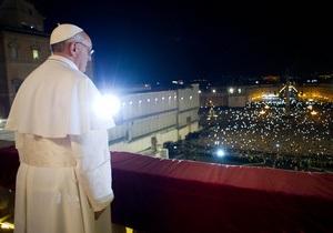 Интронизация нового Папы Римского Франциска пройдет сегодня в Ватикане