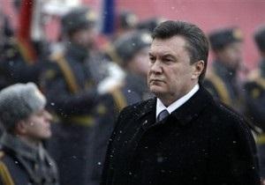 Янукович: В городе-герое Севастополе мы проведем совместный парад с Россией
