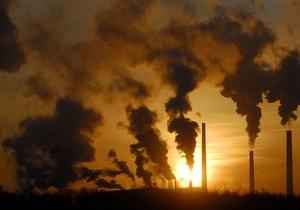 Ъ: Украина не намерена сокращать выбросы парниковых газов