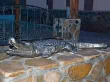 В Мариуполе появился памятник крокодилу Годзи