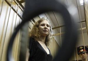 Суд отказал Алехиной в досрочном освобождении
