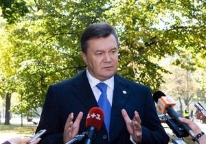 Янукович: Евроинтеграция Украины должна проходить через внутренние реформы