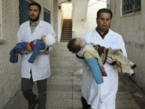 Медики: Израильские военные убили в понедельник 40 мирных жителей
