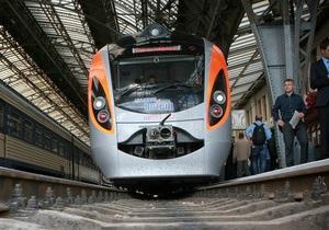 В Полтавской области поезд Hyundai переехал мужчину