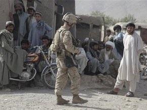 НАТО приостанавливает военные операции против талибов на время выборов в Афганистане