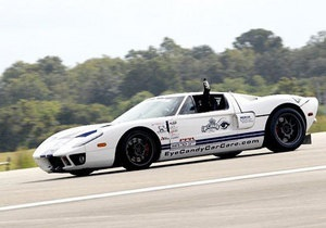 Суперкар Ford GT установил новый мировой рекорд скорости