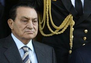 Мубарак вслед за женой отдал имущество государству
