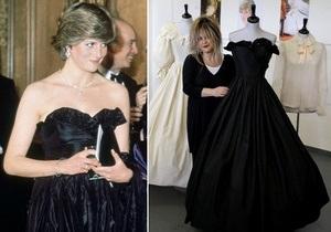 Знаменитое черное платье леди Дианы продано на аукционе