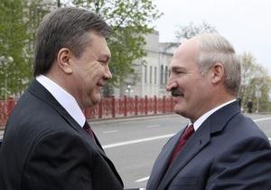 День рождения Януковича: Лукашенко посетит Крым