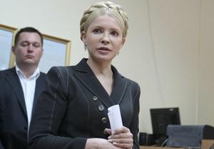 Суд: Дело против Тимошенко по газовым контрактам возбуждено законно