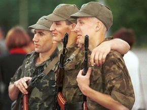 Число контрактников в украинской армии перевалило за 50%