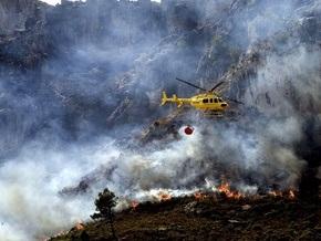 В Испании бушуют пожары: погибли пять человек
