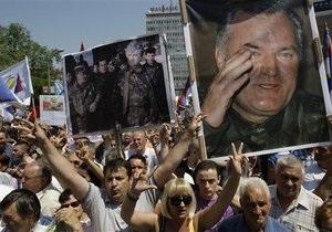 Десять тысяч боснийских сербов провели митинг в защиту Младича