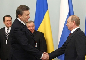 Сегодня Янукович и Путин встретятся в Крыму