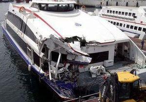 Судно с украинцами на борту столкнулось с паромом у берегов Турции