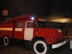 На киевском рынке произошел пожар