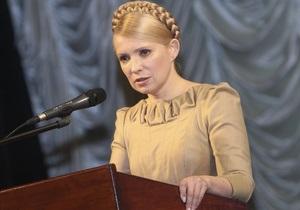 Тимошенко: У Азарова одна таблетка на все случаи жизни