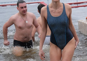 Фотогалерея: Купаться, купаться и еще раз купаться. Киев отпраздновал Крещение