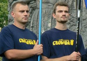 В Тернопольской области неизвестные забросали камнями депутата от Свободы