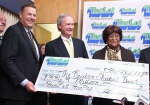В США пенсионерка выиграла в лотерее $210 млн