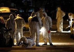 В центре Афин прогремел очередной взрыв