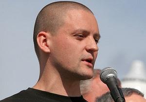 Во время съезда Единой России был задержан лидер Левого фронта