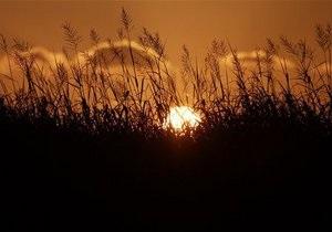 На юге и востоке Украины объявлена чрезвычайная пожарная опасность