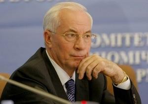 Азаров отказался от услуг преподавателя украинского языка
