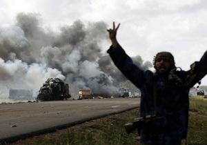 НАТО пока не видит конца военной операции в Ливии