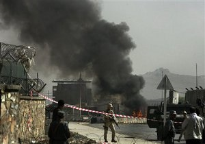 В центре Кабула прогремел мощный взрыв