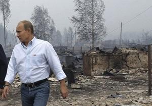 Путин поблагодарил украинских летчиков за помощь в ликвидации пожаров в России