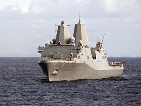 У берегов Ирана столкнулись атомная подлодка и десантный корабль ВМС США