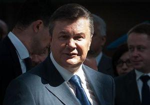 Янукович отреагировал на акцию протеста в Межигорье