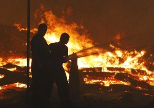 МЧС: Пожар вблизи Павлограда потушен