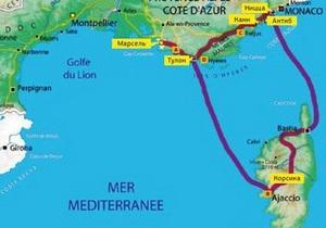 Европа на колесах. Гид по Франции. Маршрут № 3