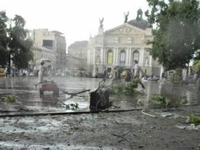 Над Львовом пронесся сильный ураган (обновлено)