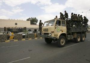 В столице Йемена военные не позволили полиции разогнать демонстрацию оппозиции