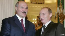 Лукашенко похвалил Путина за план Евразийского союза