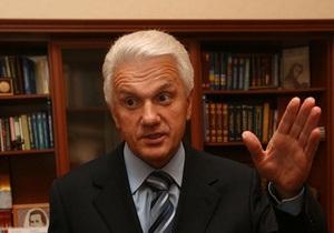 Литвин заявил, что в Украине оппозиции нет