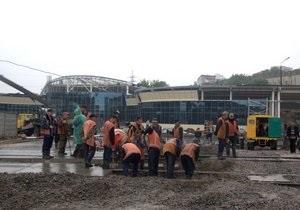 В Киеве открыли автостанцию Выдубичи