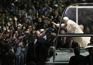 Папа Римский - Бразилия - Католическая церковь: Франциск призвал священников отказаться от комфорта