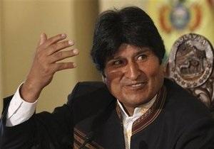 Эво Моралес побеждает на президентских выборах в Боливии