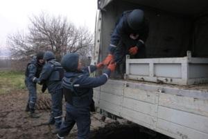 В Днепропетровской области  найдены более 400 боеприпасов и более 20 тысяч патронов времен войны