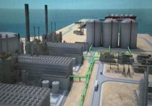 Украина объявила о начале строительства LNG-терминала