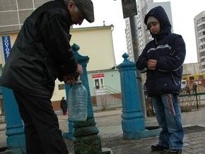 В четырех районах Киева прекращена работа бюветов